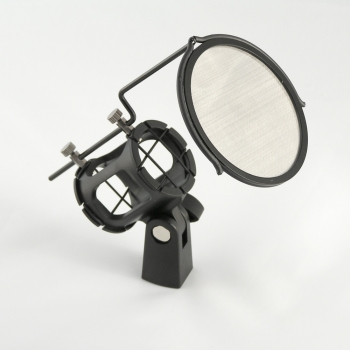 SMP-012 shock mount with pop filter