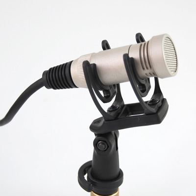 Oktava MK-012-02 small diaphragm condenser microphone with cardioid and omnidirectional capsules silver